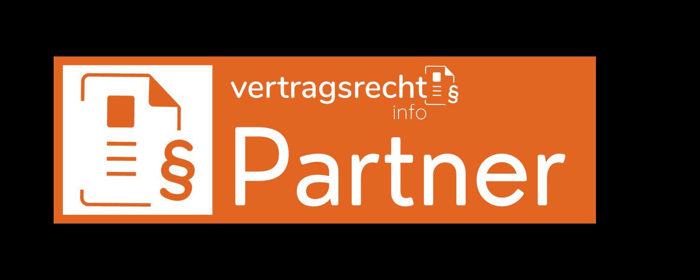 Vertragsrechtsinfo.at Partnersiegel Dunkel